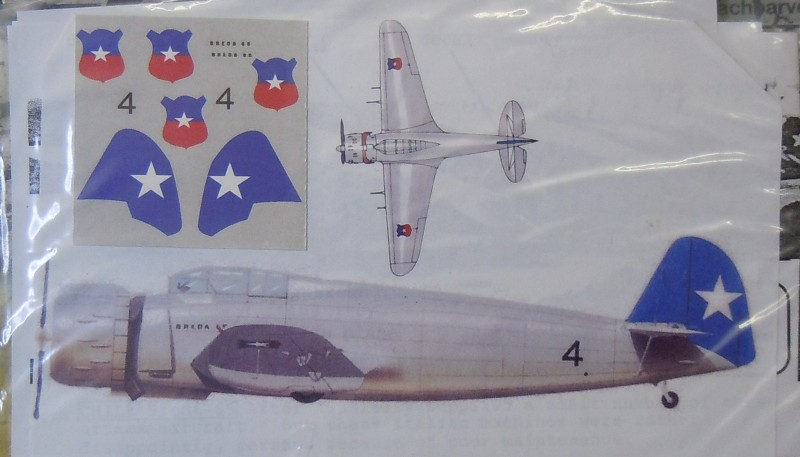 D.500 Venezuela Ba.65 Chile Decals