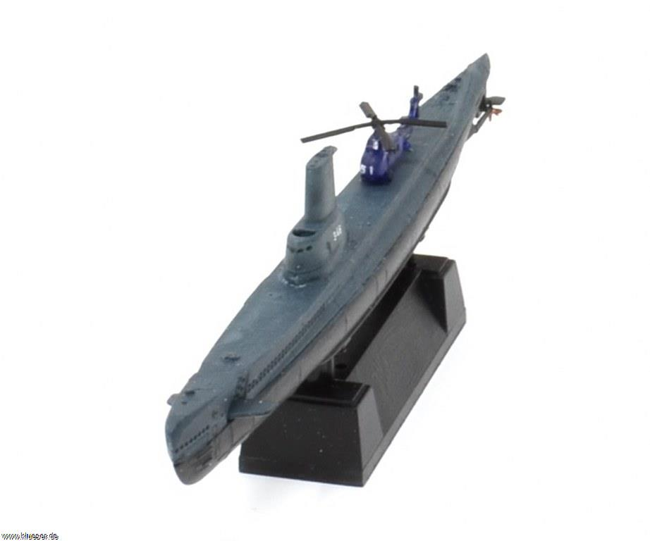 Sikorsky S-58 / Wessex 1/700, USS Corporal SS-346 GUPPY II 1956