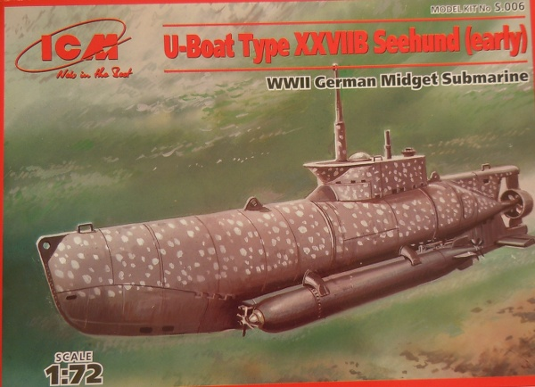U-Boot Typ XXVIIB Seehund early, U-5329