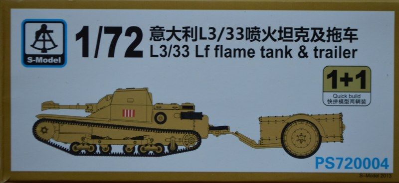 Ansaldo L3/33 Lf Flamethrower