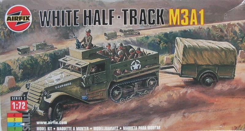 M3A1 White Halftrack