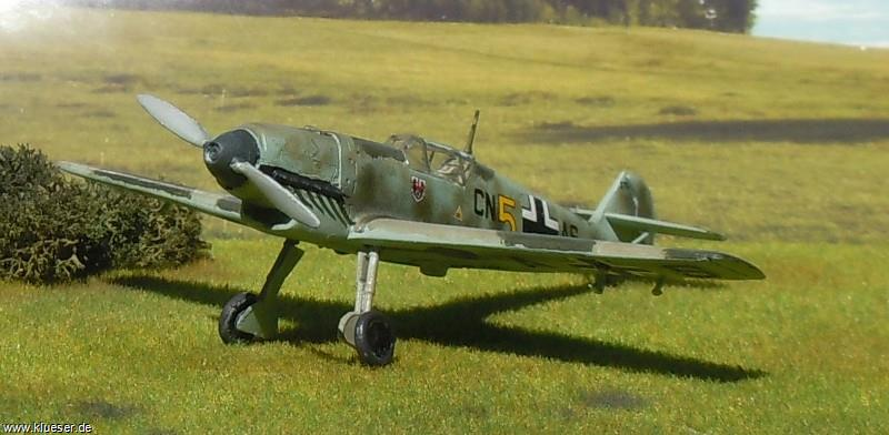 Messerschmitt Me 109 B-2 Fluglehrerschule / Limited Double Kit