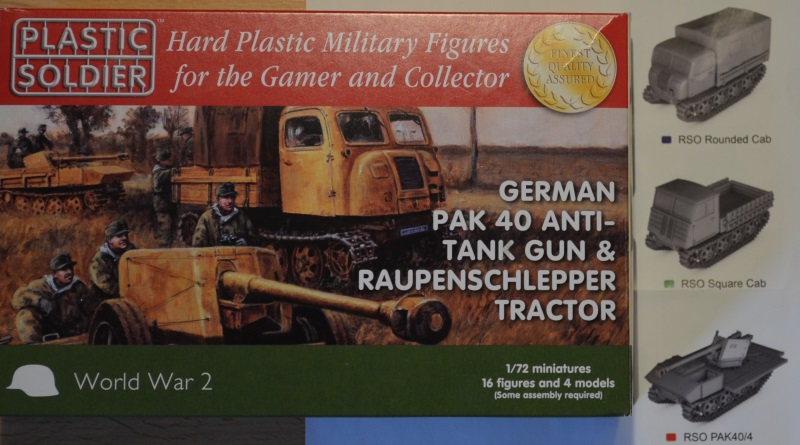 German Pak40 Antitank gun & Raupenschlepper Tractor