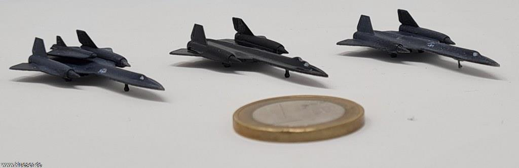 Lockheed SR71 1/700 Package