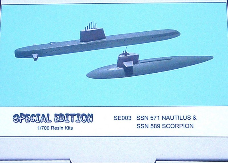 USS SSN-571/589 package