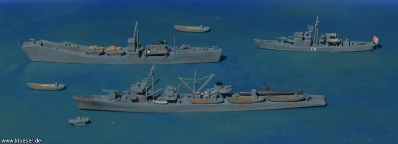 Ch.13  IJN Subchaser, Koryu C, T1 class Fast Attack Transport, T101 class Landungsschiff, Transport Set IJN, Transport Set IJN, Transport Set IJN