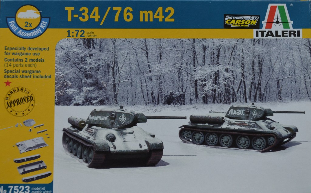 T-34/76 Mod. 1942 Pack