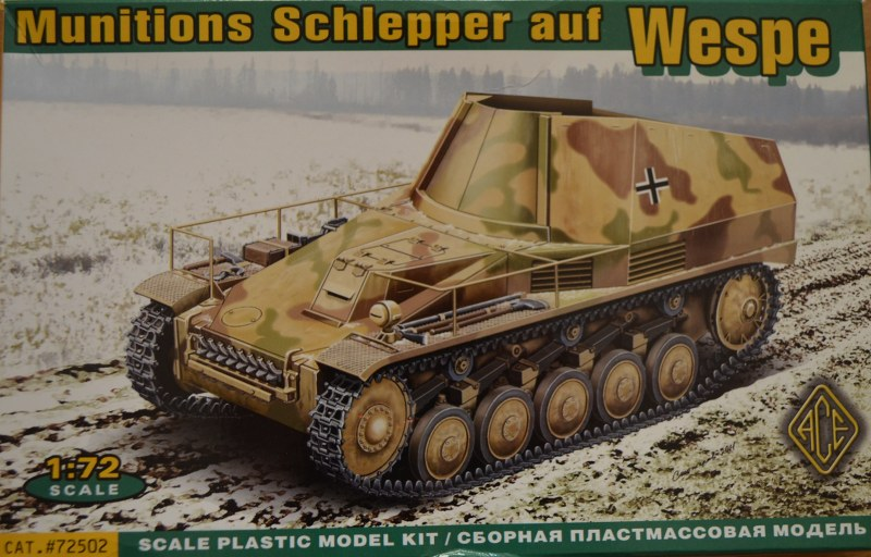 Wespe Munitionsschlepper