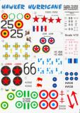 Hawker Hurricane Decals Printscale